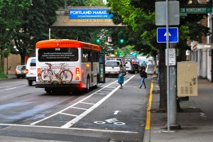 Portland Cycle Track