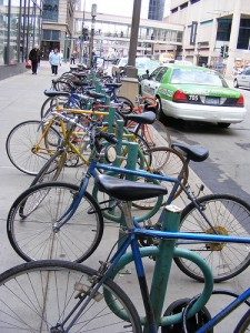 Bicycles in Minneapolis